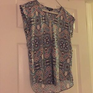 Express silk zip top